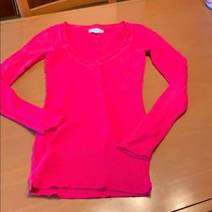 Aero hot pink sweater